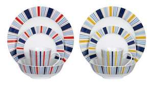Swan 16 Piece Eclipse Dinner Set - £12.99 @ Littlewoods eBay