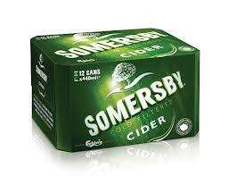 Somersby cider 12 x 440ml cans only £6.00 @ Tesco!