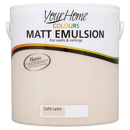 Your Home Colours Matt Paint- 2.5L £5 @ Asda