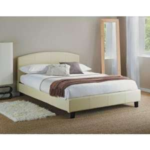 Theo Small Double Bed Frame - Cream - £86.94 Delivered @ Argos