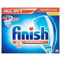 Lidl  - Finish all in 1 dishwasher tabs half price plus 100% extra free
