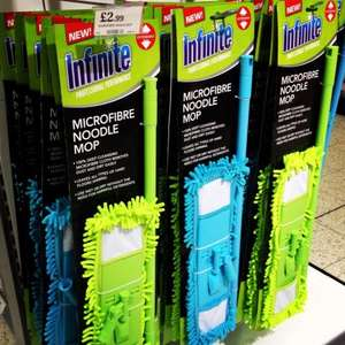 Infinite Microfibre Noodle Mop, £2.99 at Home Bargains