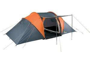 Aventura 4 Man Tunnel Tent  - Halfords reduced from £89.99 to £39.99