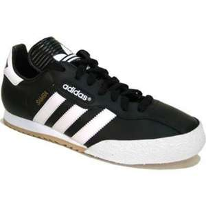 ADIDAS SAMBA SUPER INDOOR CLASSIC FOOTBALL TRAINERS  £28.75 delivered with code at sports shoes