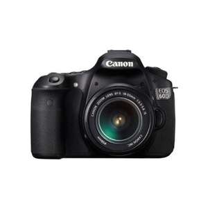 Canon eos 60d with 18 - 55 mm lens £508 @ Procamerashop