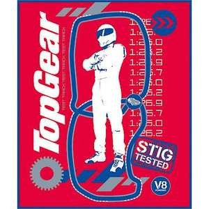 Top Gear Stig Tested Fleece now £1 R&C @ The Entertainer Toy Shop