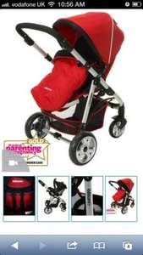 Kiddicare.com Imax Adapt Pushchair - Red  £144.49