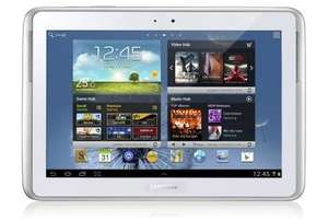 Samsung Galaxy Note 10.1 inch 3G Tablet - White (ARM Cortex A9 1.4GHz, 16GB, 3G, BT, Android 4.0) - £349 @ Amazon