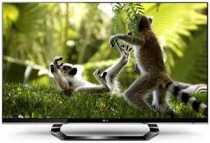LG 42LM640T 42 Inch 400Hz LED Cinema 3D Smart TV with 4x Pairs of Glasses, Cinema Screen Design @ RGB Direct