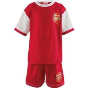 Arsenal FC Boys' Red Short Pyjamas 2.39 @ Argos
