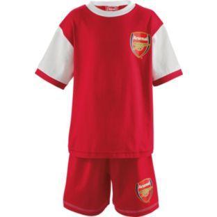Arsenal FC Boys' Red Short Pyjamas 2.39 @ Argos