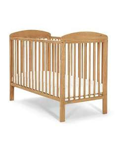Mamas and Papas Bibi Cot - Golden Oak or White free delivery £79 was £105