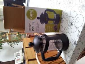 French Press Cafetiere £3.99 @ home bargains