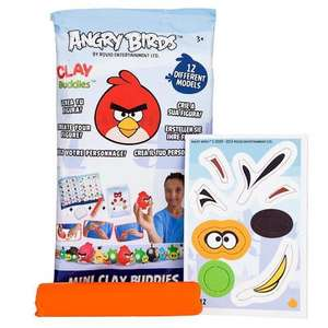 Clay Buddies Angry Birds - Poundland £1.00