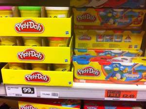 8 tubs of Play-Doh for £2.49 @ Sainsburys - less than half price