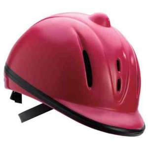 Pink Tesco horse riding hat - instore £3.50