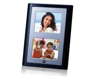 "Motorola Ls 420 4.2"" Dual Screen Digital Photo Frame £1.31 with Free Delivery to Store @ Tesco Direct"