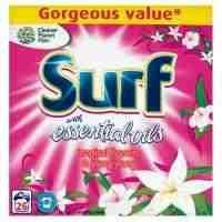 Surf Washing Powder CO OP 25 washes £2.94