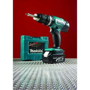 Makita BHP453RFX3 Combi Hammer Drill, Carry Case, 1 x 3.0 Ah Li-Ion Battery, 1 x Fast Charger & 34 Piece Accessory Set £139.99 @ Wickes