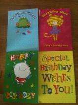 10 Birthday Cards for £1.00 - Card Factory - Instore only - while stocks last