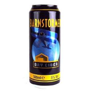 Barnstormer Dry Cider pack of 4 -  500ml cans @ B&M - £1.69