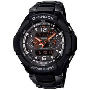 Casio GW-3500BD-1AER Gents Watch Quartz Analogue Black Dial Black Steel Strap - £101 Amazon UK (can be had for £80.80 + 7% Quidco)