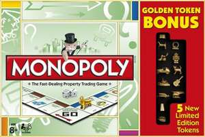 Hasbro Gaming Monoploy Classic Game Bonus Pack £8.50 delivered!@ amazon