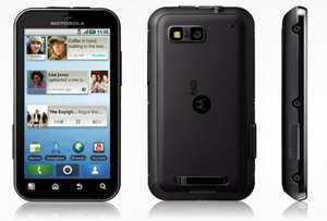 Motorola DEFY + ... 79.99 Including 10.00 Top Up ... @ Three ... BACK IN STOCK