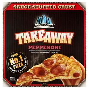 "Chicago Town ""Takeaway Pizzas"" £2.14 @ Supervalu"