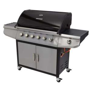 Brinkmann 6 Burner and Side Burner Gas Barbecue £349 @ asda