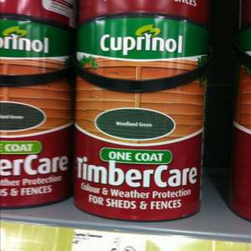 Cuprinol Timbercare 5L £5 @ Asda