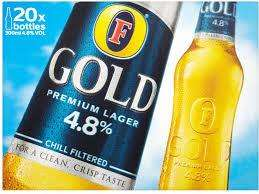 Fosters Gold 20x300ml Bottles £10 @ The Co-operative