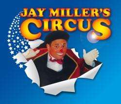 Child ticket + adult ticket £12 instead of £22 @Jay Miller's Circus