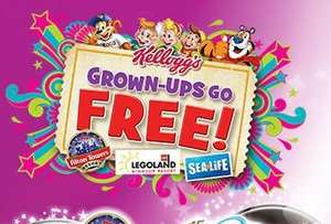 Rice Krispies/Coco Pops 6 bars £1.00 @ CO-OP - BOGOF Adult Entry to Legoland, Sealife, Alton Towers, Chessington & more