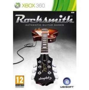 Rocksmith Xbox 360 incl real tone cable only £29.99 delivered @ Amazon