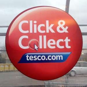 Free Click & Collect for Groceries @ Tesco, 24th May - 3rd June