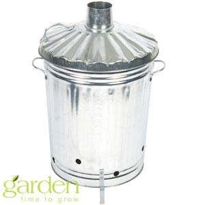Galvanised Incinerator Bin £14.99 @ Home Bargains