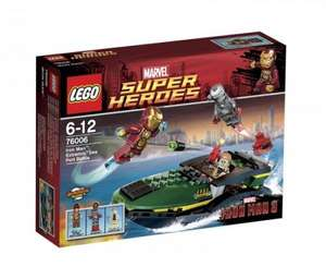 Iron Man: Extremis Sea Port Battle - LEGO Super Heroes 76006 for £11.99 @ A1 Toys, £19.99 Amazon
