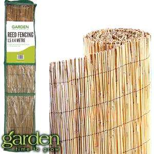 Garden Reed Fencing: 1.5 x 4M - £4.99 @ Home Bargains