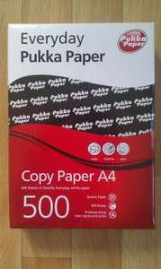 £2.49 500 sheets 80gsm A4 copy paper from Sainsbury's instore half price offer