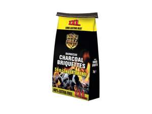 Barbecue Charcoal Briquettes - 40% Extra Free  ( 7Kg ) £2.99 @ Lidl