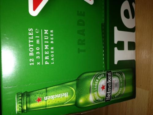 12 x 330ml Heineken £8.00 Instore Asda
