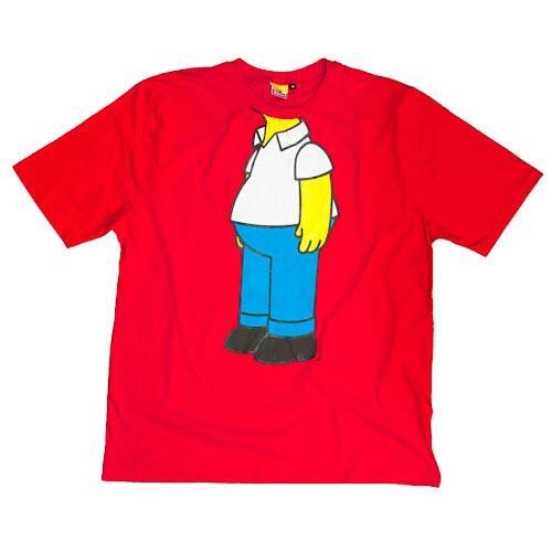 Homer Simpson T-Shirt £1 Poundland