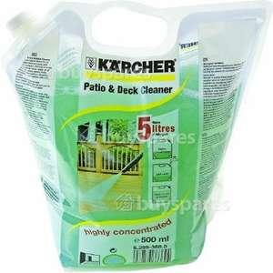 20% saving on patio cleaning solution for pressure washer £7.99 @ buyspares