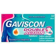 Gaviscon Double Action Tablets 32S £2.10 @ TESCO (express)