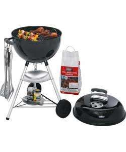 Weber 47cm Charcoal BBQ with Charcoal and Tong Set £39.99 @ Clearance Bargains
