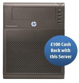 HP ProLiant G7 N54L 2.2GHz MicroServer £209.99 + £100 cashback @ Ebuyer