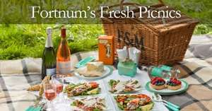 25% off Fortnum & Masons bank holiday weekend online only selected items including picnic