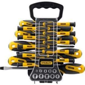Stanley 49 Piece Screwdriver Set - Argos - £12.99