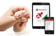 Baby and Child First Aid app - British Red Cross free app Android/Apple